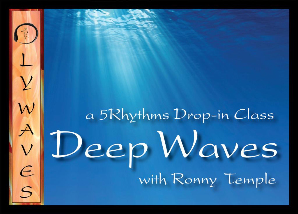 Deep Waves 2015 Postcard Front
