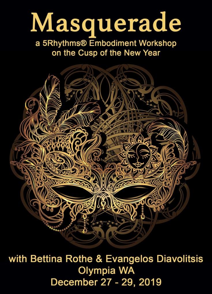 Masquerade Postcard Web